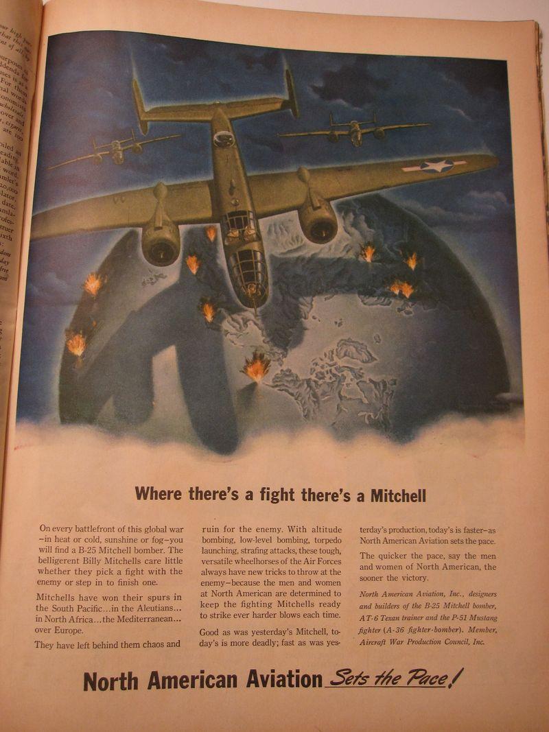 Mitchell aircraft, Life magazine