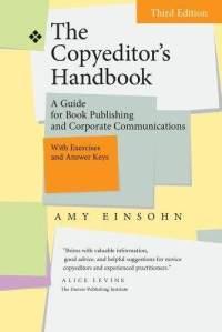 Copyeditor's handbook, 3rd ed 2