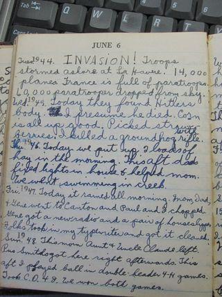 Diary 6.6.1943