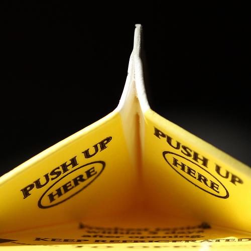 Push Up Here