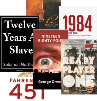 Numbers  book title collage