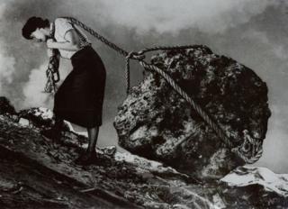 Sysyphus woman