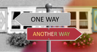 One way  another way  color