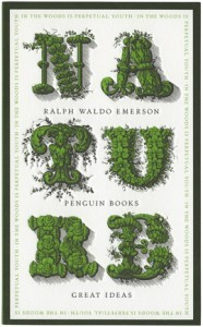 """Ralph Waldo Emerson  """"Nature"""""""